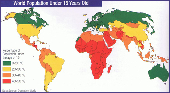 World Population Under 15
